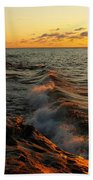Lake Superior Dawn Beach Towel