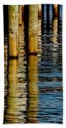 Lake Tahoe Reflection Beach Towel