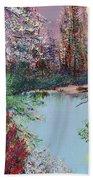 Lake Tranquility Beach Towel