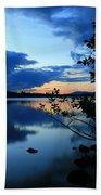 Lake Umbagog Sunset  Beach Towel