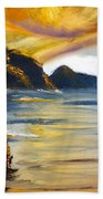 Lake Wahatipu Queenstown Nz Beach Towel