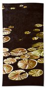 Lake Washington Lily Pad 10 Beach Towel