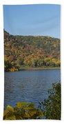Lake Winona Autumn 9 Beach Towel