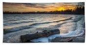 Lake Yankton Minnesota Beach Towel