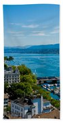 Lake Zurich Beach Towel