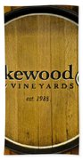 Lakewood Vineyards Beach Sheet