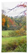 Lamance Valley In The Fall Beach Towel