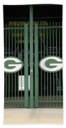 Lambeau Field - Green Bay Packers Beach Towel