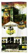 Lambeau Field - Tundra Tailgate Zone Beach Towel