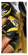 Lance Armstrong Artwork Beach Towel