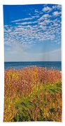 Land Sea Sky Beach Towel