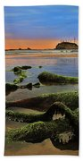 Lands End Beach Towel by Benjamin Yeager