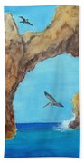 Lands End Beach Towel