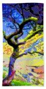 Landscape Art Tree Life Beach Towel
