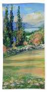 Landscape From Kavran Beach Towel