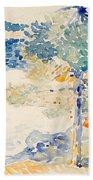 Landscape. Saint Clair Beach Towel