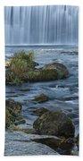 Lanesboro Dam 9 Beach Towel