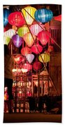 Lantern Stall 01 Beach Towel