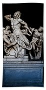 Laocoon And The Snake Beach Towel