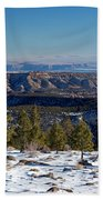 Larb Hollow Overlook Beach Towel