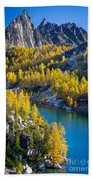 Larches At Perfection Lake Beach Towel