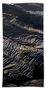 Large Scale Of Rice Terrace Beach Towel