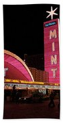 Las Vegas With Watercolor Effect Beach Towel