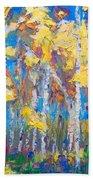 Last Stand Beach Towel by Talya Johnson