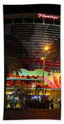 Las Vegas - The Flamingo Panoramic Beach Towel
