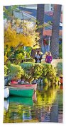 Late Afternoon Stroll Beach Towel by Chuck Staley