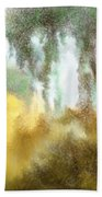 Late Autumn Chill Beach Towel