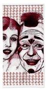 Laugh Clown Laugh Beach Towel