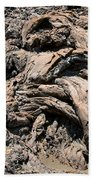 Lava Abstract Beach Towel