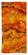 Lava Flow Beach Towel