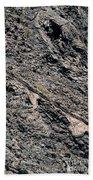 Lava Textures Beach Towel