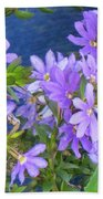 Lavendar Melody Beach Towel