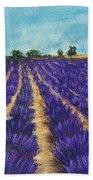 Lavender Afternoon Beach Towel