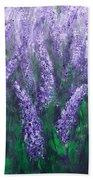Lavender Garden II Beach Towel