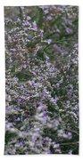Lavender Silver Lining Beach Towel
