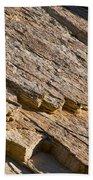 Layered Rock Beach Towel
