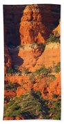 Layers Of Red Rock Beach Towel