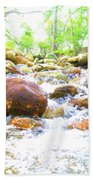 Lazy Rapids Open Beach Towel