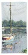 Le Bassin D'argenteuil Beach Towel