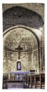 Le Castellet Medieval Church Beach Towel