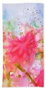 Le Jardin Beach Towel