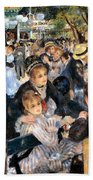 Le Moulin De La Galette Beach Towel