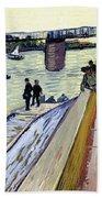 Le Pont De Trinquetaille Beach Towel