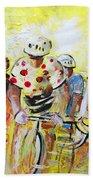 Le Tour De France 07 Acrylics Beach Towel