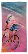 Le Tour De France 16 Acrylics Beach Towel