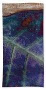 Leaf Abstract Beach Towel